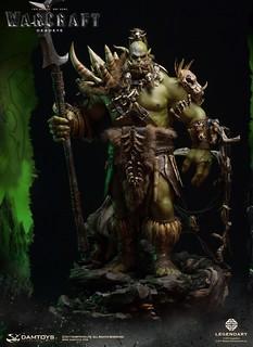 犧牲一隻眼睛,換取整個氏族強大的契機!! DAMTOYS《魔獸:崛起》基爾羅格·死眼 Kilrogg Deadeye DMLW06 全身雕像作品