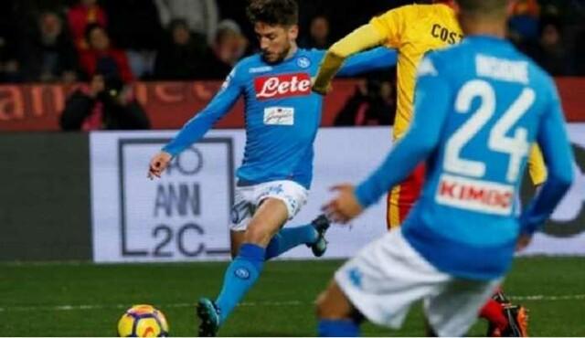 Napoli Kembali ke Posisi Teratas Usai Kalahkan Tim Juru Kunci
