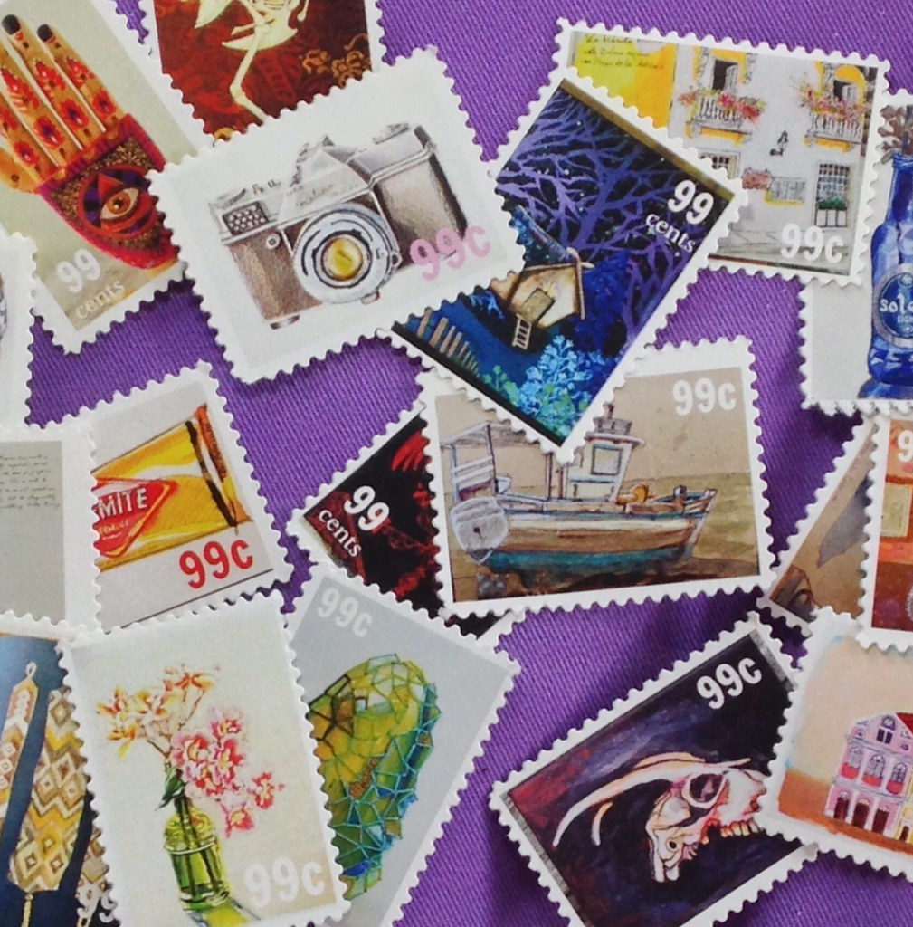 artist's stamps