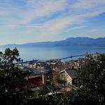 Vue d'en haut sur Rijeka