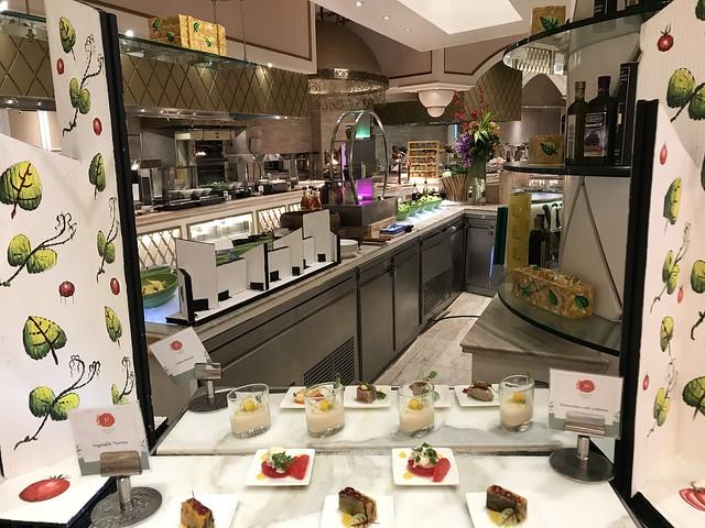 Medley Buffet,  dessert station,  8