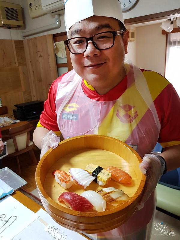 okayama sushi making