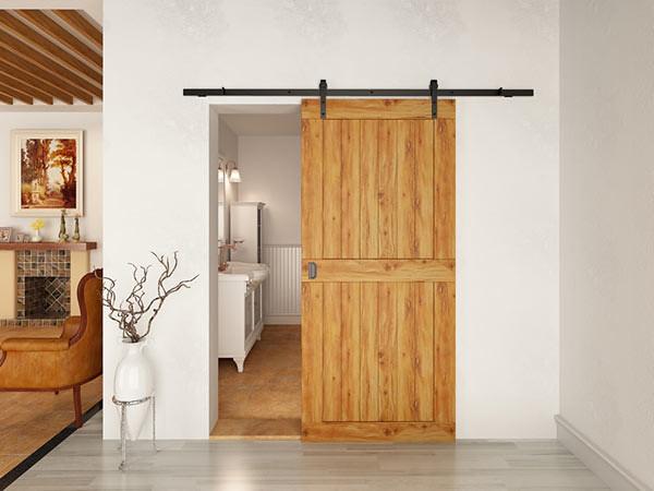 Barn door atau pintu papan kayu, juga menjadi gaya yang disukai generasi milenial.