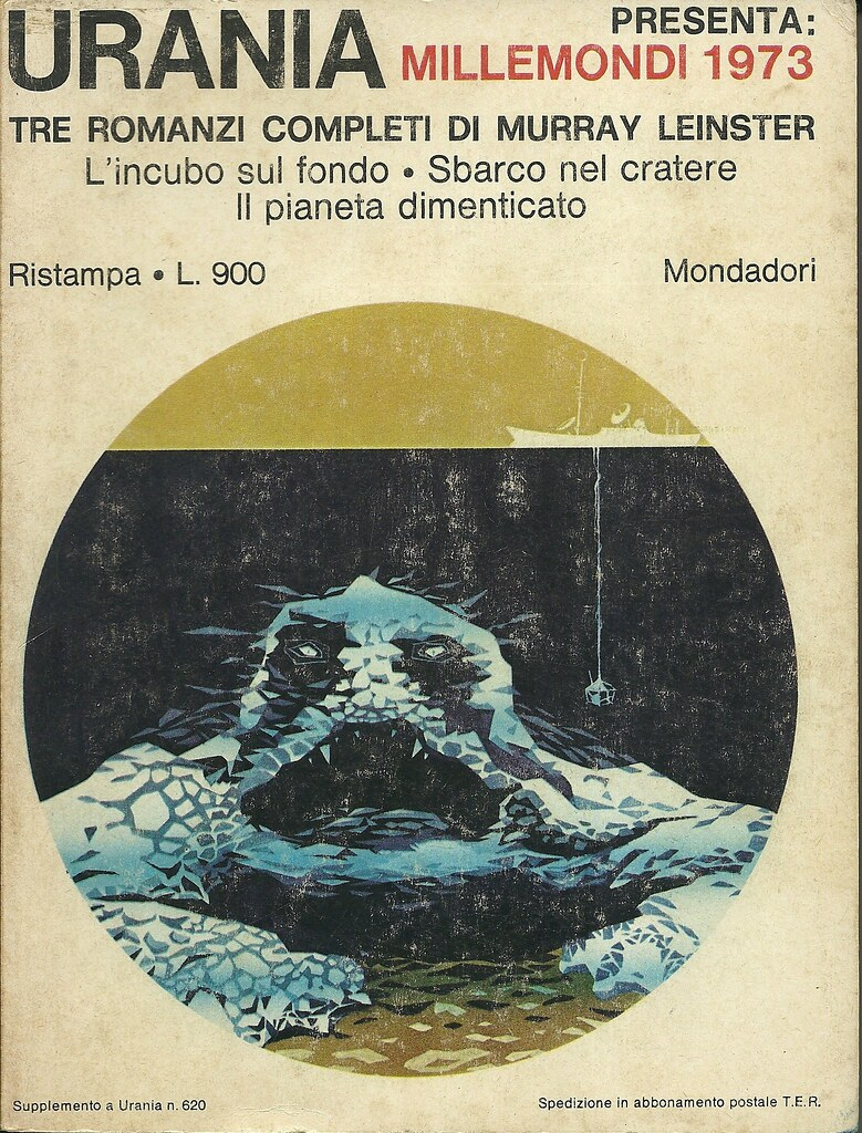 "Karel Thole - URANIA Presents ""Millemondi 1973"" Three complete novels by Murray Leinster"