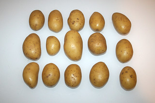 04 - Zutat Kartoffeln (Drillinge) / Ingredient small potatoes