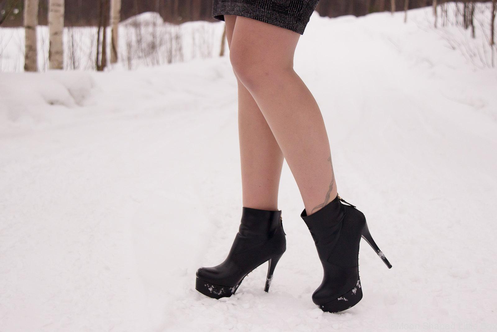 korkeat nilkkurit, korkokengät, Lundbergin kengät