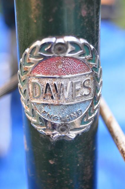 Dawes Kingpin folding bicycle