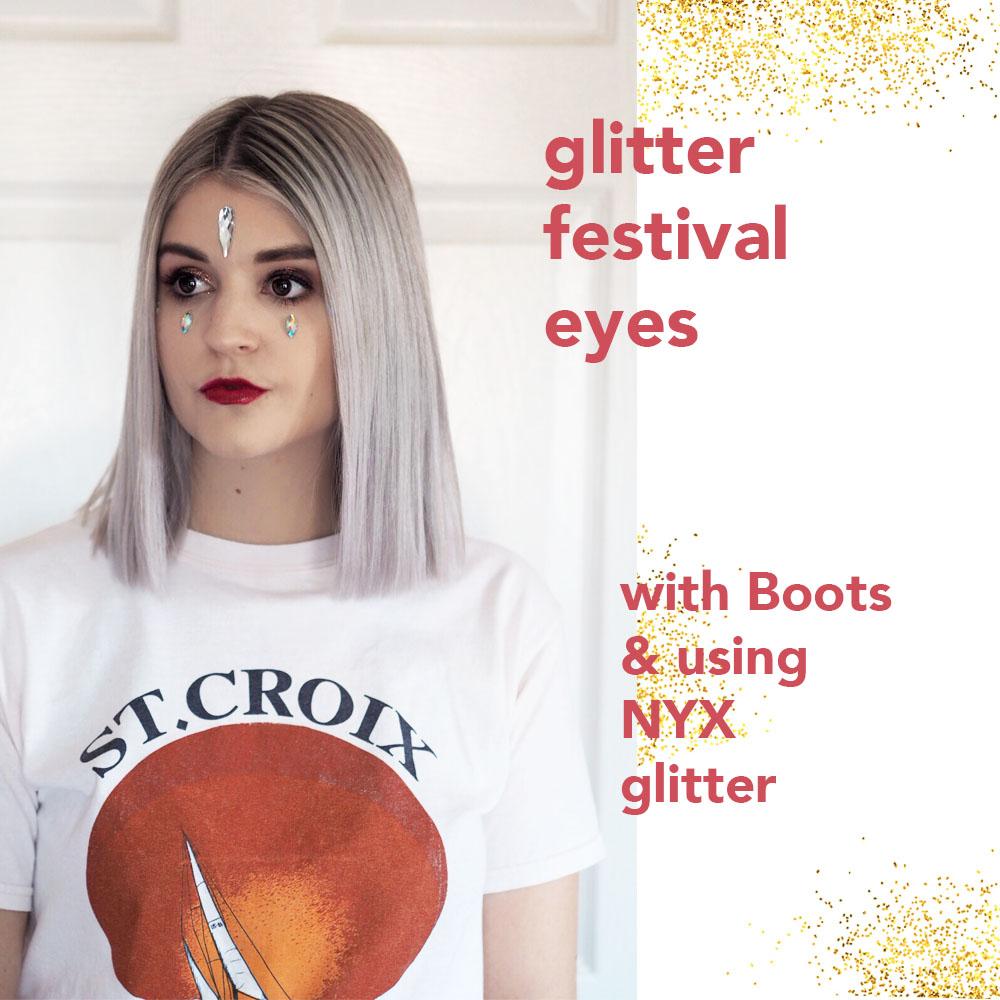 glitter festival eyes over