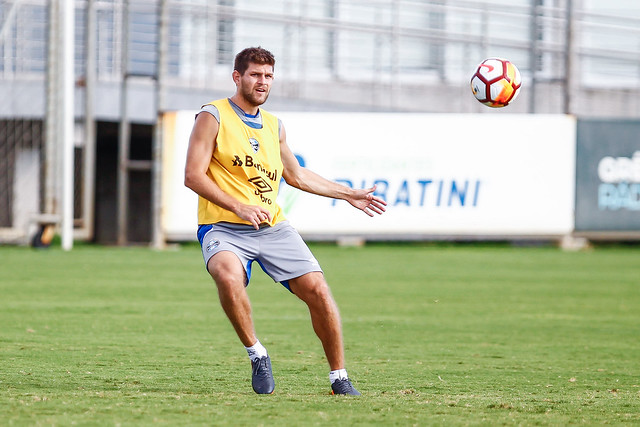 Treino Grêmio 25/02/18