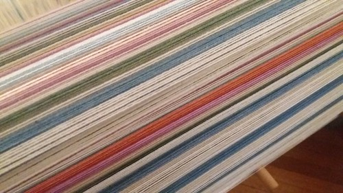 new cotton warp from Guatemala