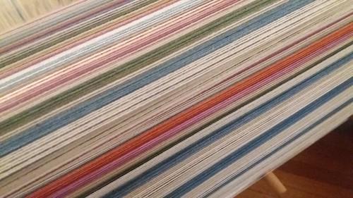 new cotton warp from Guatemala