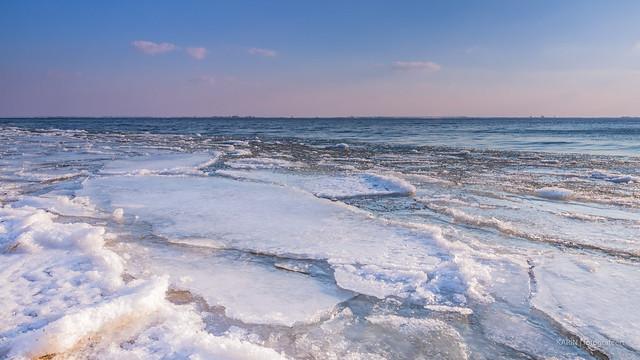Floating ice!