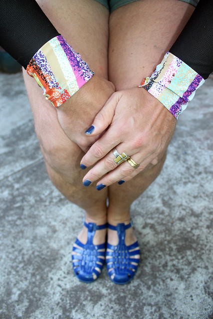 Matching Nails and Sandals