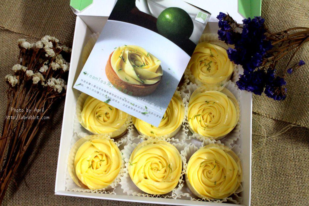 台中檸檬塔推薦|CreamTea家常檸檬塔-玫瑰造型超美超浪漫