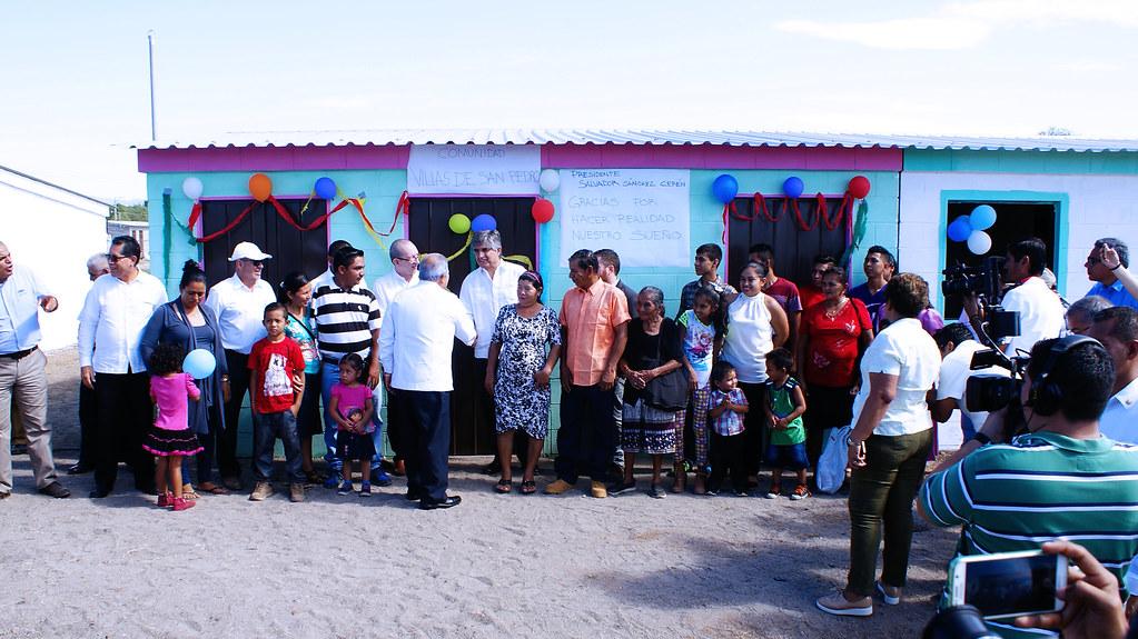 250 familias de San Pedro Masahuat, ya cuentan con viviendas que mejorarán sus condiciones de vida