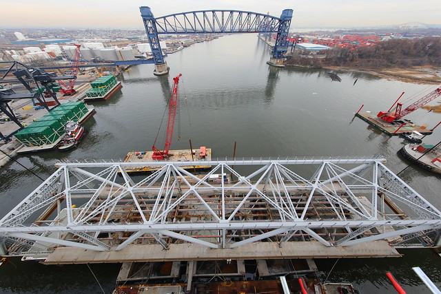 Goethals Bridge Replacement Project - Progress - January 2018