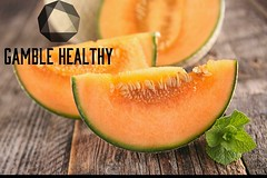 Today's FOOD FOR THOUGHT IS Cantaloupe!! Cantaloupe is