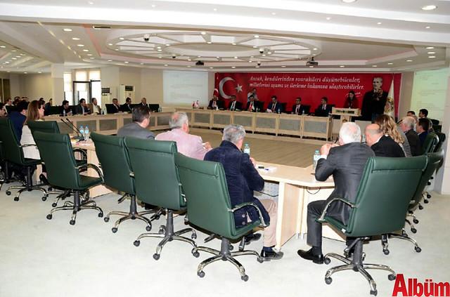 Alanya Belediyesi Aylık Olağan Meclis Toplantısı gerçekleştirildi.