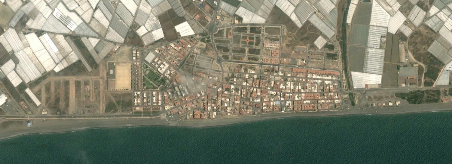 balerma, almería, baduque, antes, urbanismo, planeamiento, urbano, desastre, urbanístico, construcción