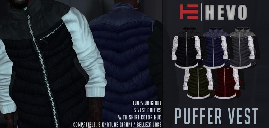HEVO – Puff Vest @ [MOM]