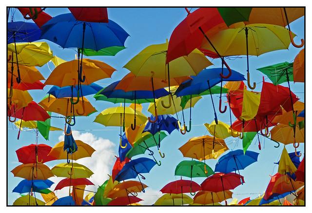 Les parapluies...d'Honfleur - Umbrellas ... Honfleur