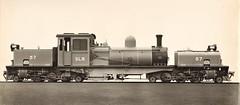"""Sierra Leone Railways - SLR """"Beyer Garratt"""" type 2-6-2+2-6-2 steam locomotive Nr. 57 (Beyer Peacock Locomotive Works, Manchester-Gorton 7045 / 1942)"""
