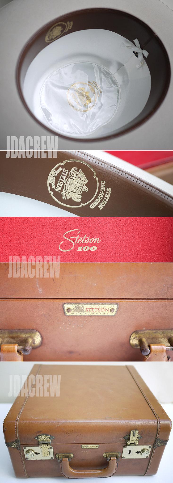 【STETSON】100 ワンハンドレッド 59.8cm DEADSTOCKビンテージ