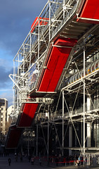 Piano and Rogers, Centre Pompidou, 1971-77