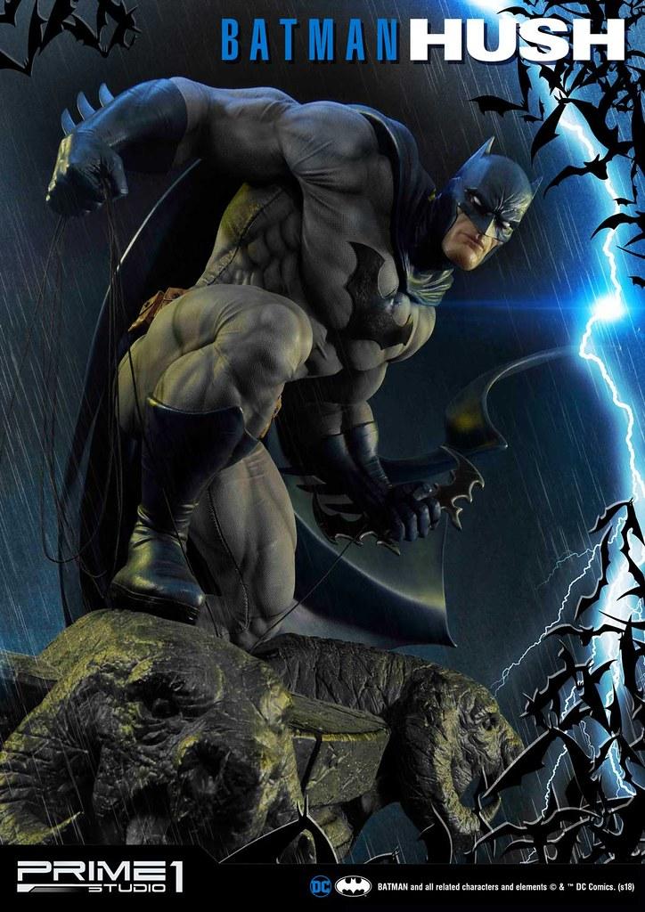 Prime 1 Studio《蝙蝠俠:寂靜》蝙蝠俠 Batman: Hush Batman MMDCBH-01EX 1/3 比例全身雕像作品