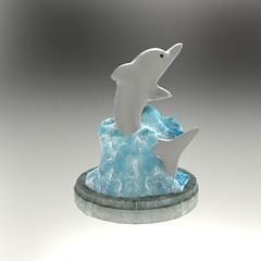 Dolphin Free 3D Model