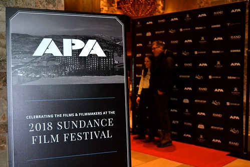 APA Film Reception at St. Regis Deer Valley During Sundance Film Festival