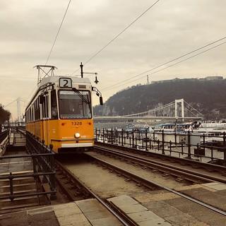 Number 2 Tram, Budapest, Hungary