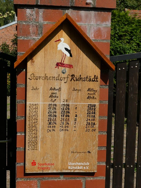 Storchendorf Rühstädt