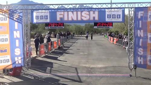 Tucson half marathon