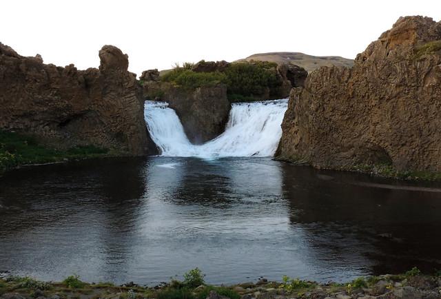 Hjálparfoss, Iceland