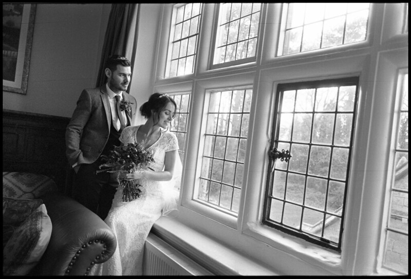 B&W Film Leica Wedding