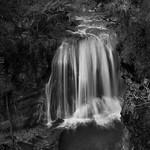 Cascade en noir et blanc (Marie-Anne K)