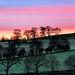 Sunrise View from Gratton Grange Farm, Derbyshire