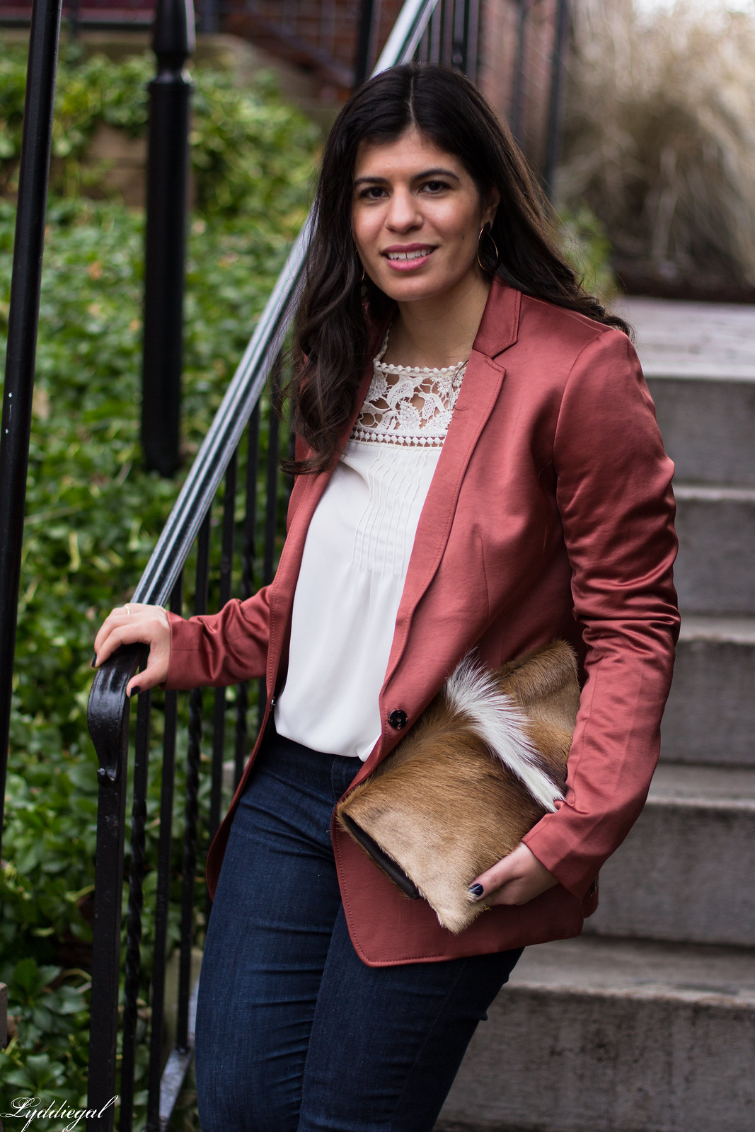 rust silk boyfriend blazer, springbok clutch, lace blouse-13.jpg