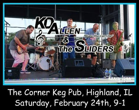 KD Allen & The Sliders 2-24-18