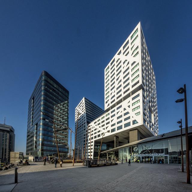 Utrecht city office/train station (stadskantoor etc.)