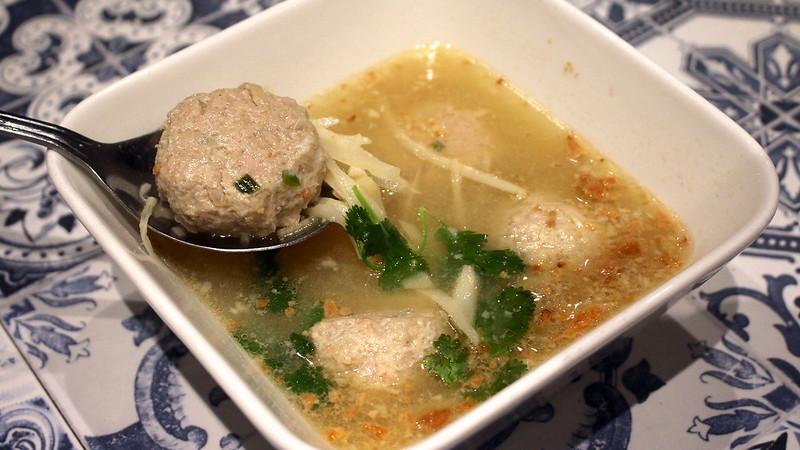 Soup Bakwan Kepiting