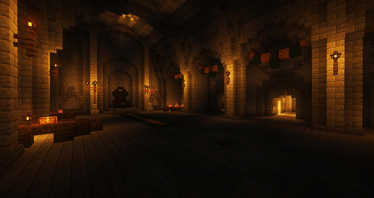 Minecraft Middle Earth By @mcmiddleearth: Helm's Deep - The Great Stronghold Of Rohan