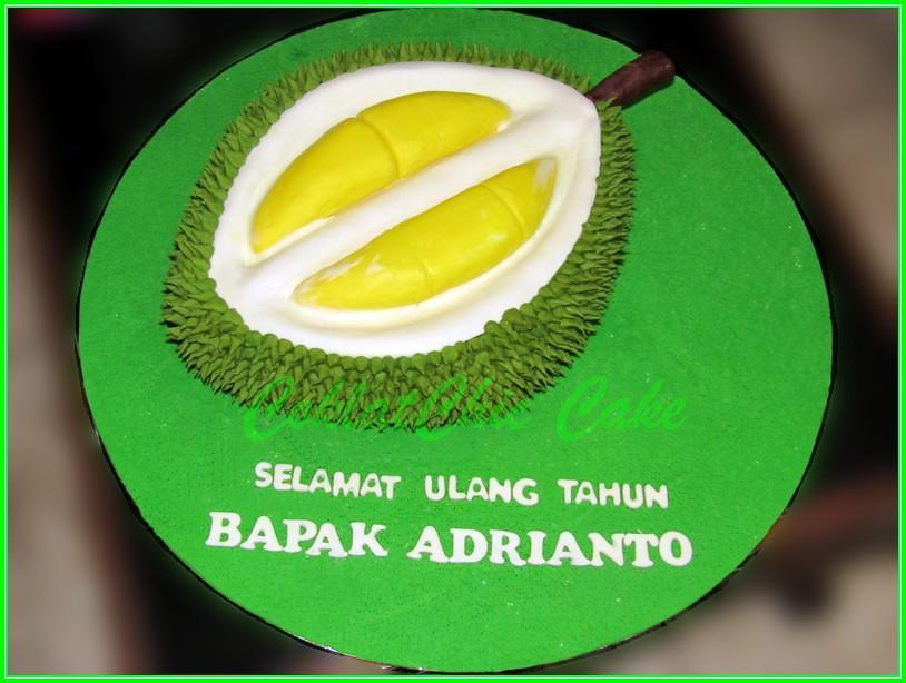 Cake durian Bapak Adrianto40 cm