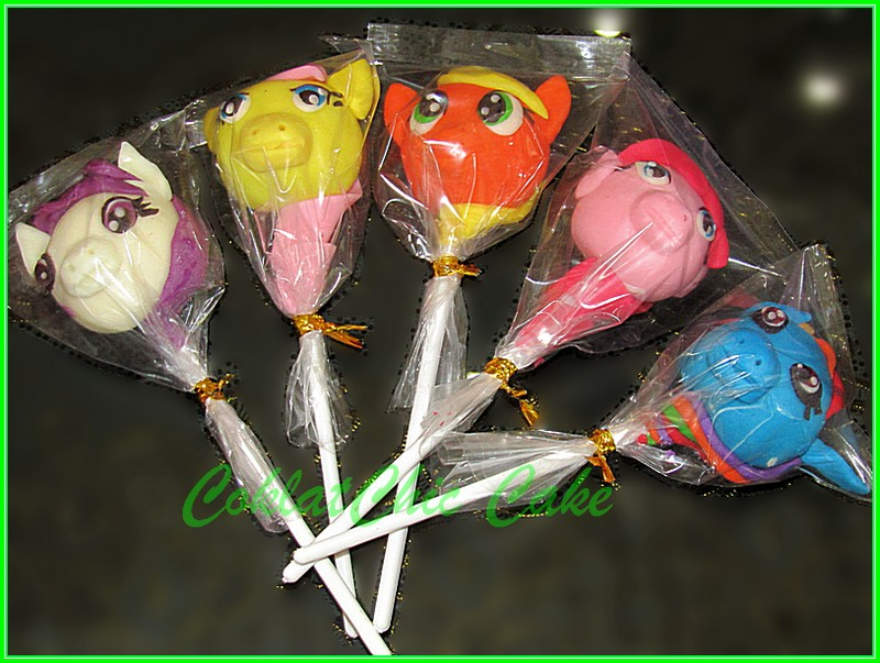 cakepops My Little Pony