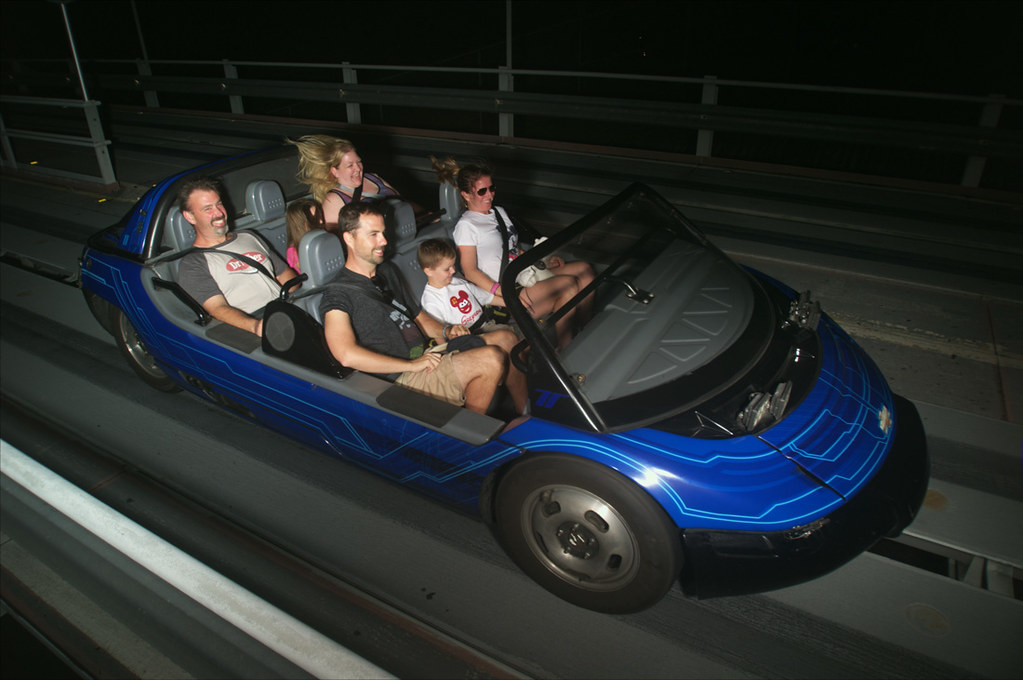 Sister-in-law and family on Test Track