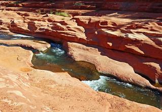 Mother Nature's Water Carving, Rock Creek Canyon, AZ 2015