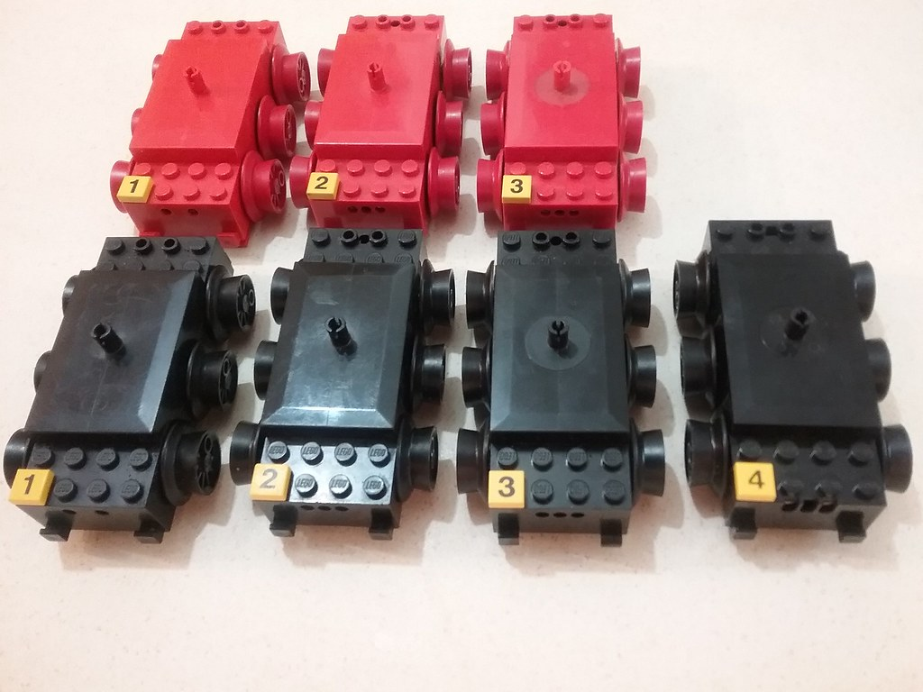 Variations of Lego train 12V motors