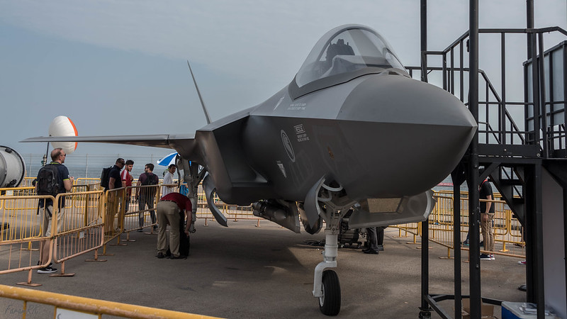 Lockheed Martin F-35 full scale model
