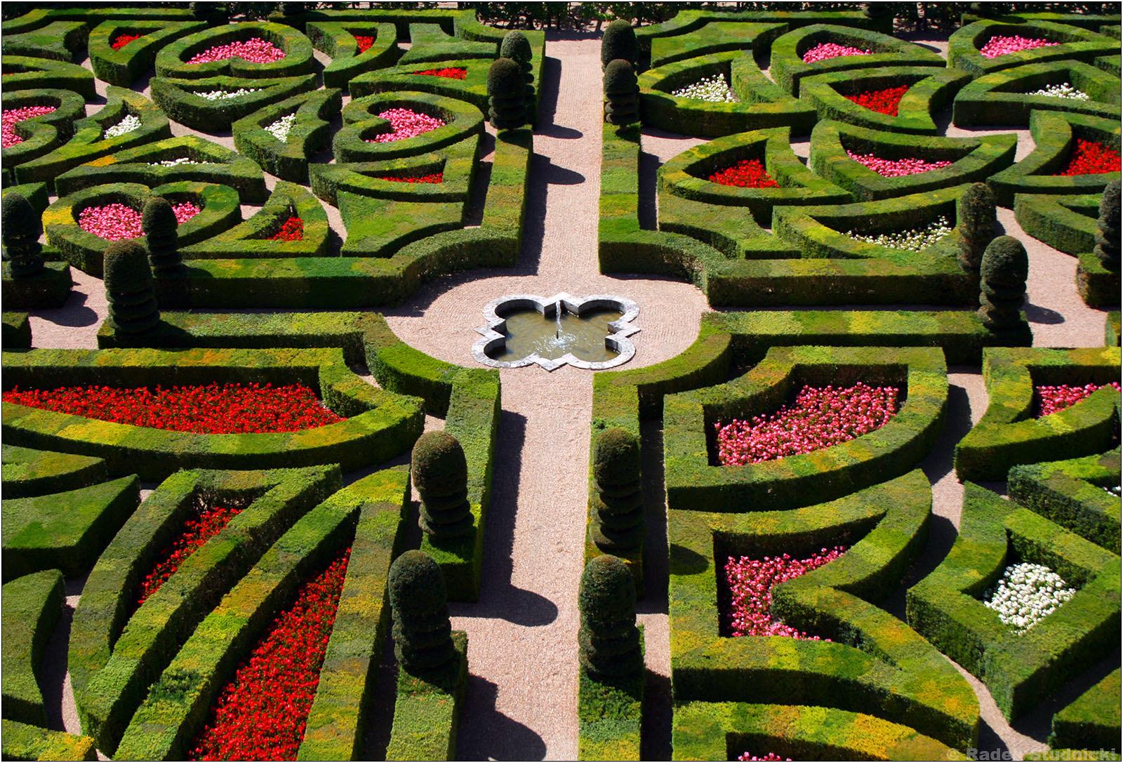 Ogrody zamku Villandry